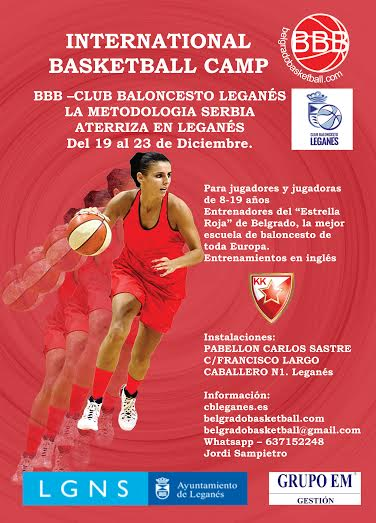international basketball camp organizado por belgrado basketball