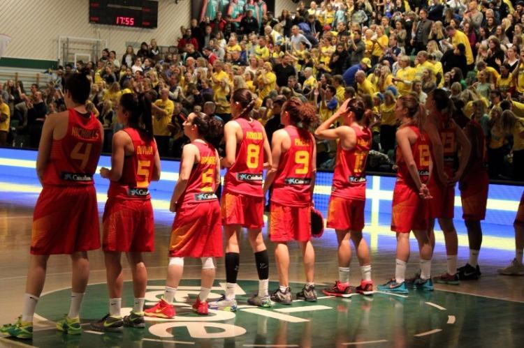 Clasificación Eurobasket 2017. Suecia contra España