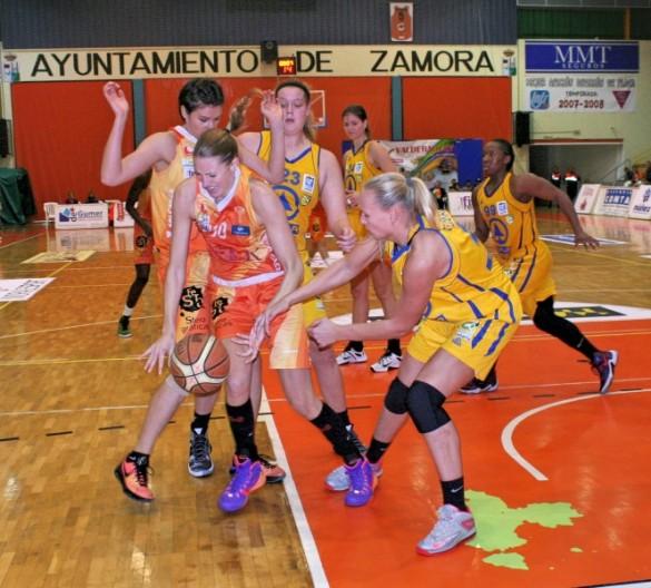 Jornada 8 de Liga Femenina. Quesos El Pastor de la Polvorosa contra Spar Gran Canaria