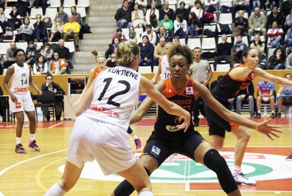 Euroliga Femenina. Spar Citylift Girona contra Bourges Basket