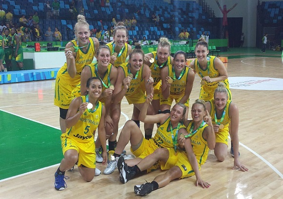 Australia vence en el Torneo Internacional de Baloncesto Femenino de Brasil.