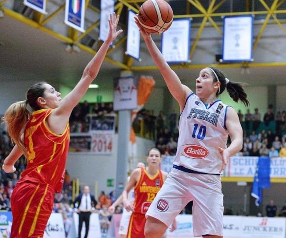 Clasificación Eurobasket 2017. Jornada 3. Italia contra Montenegro. Foto: FIBA/Contessa Giovanni