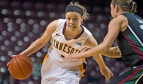 Rachel Banham anota 60 puntos con Golden Gophers de Minnesota en la NCAA