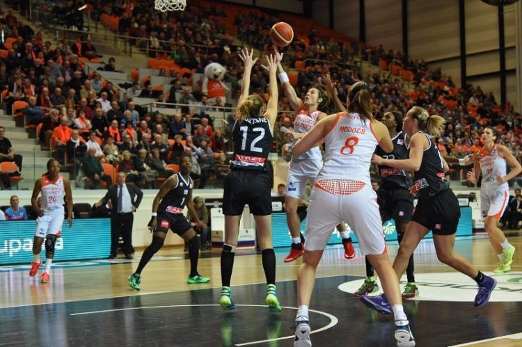 Euroliga Femenina. Spar Citylift Girona contra Tango Bourges Basket