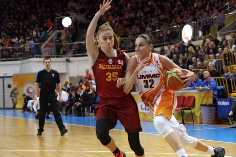 Euroliga Femenina. Cuartos de final. UMMC Ekaterinburg - Galatasaray.