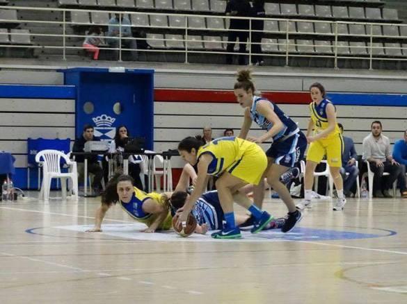 Liga Femenina 2. Grupo EM Leganés contra Picken Claret