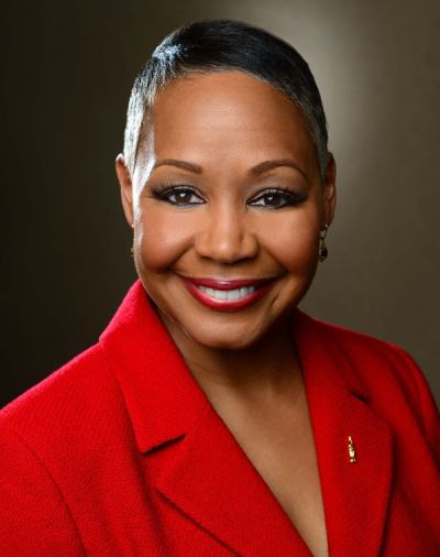 Lisa Borders, actual presidenta de la WNBA