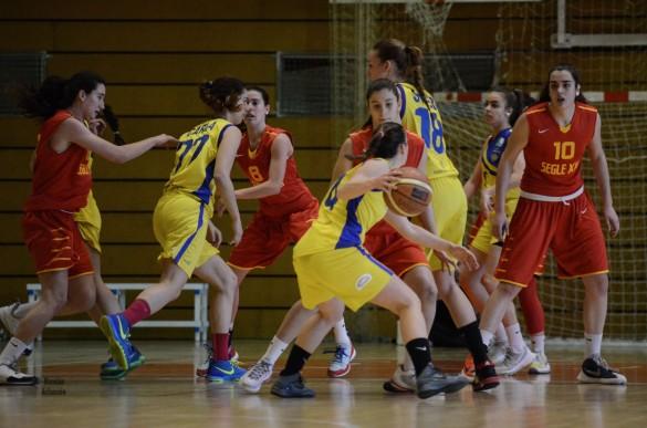 Liga Femenina 2. Partido entre Segle XXI y Picken Claret