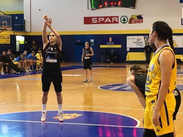 Liga Femenina. Jornada 25. Spar Gran Canaria contra Conquero Huelva Wagen