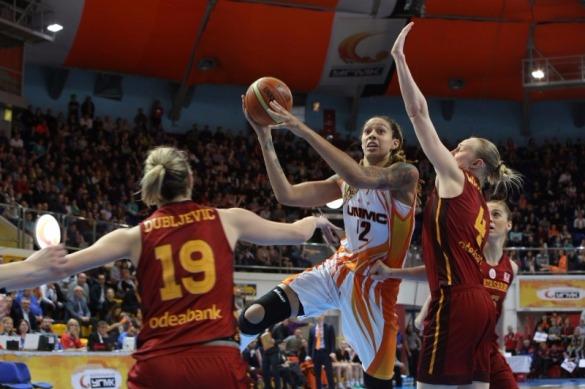Euroliga Femenina. Cuartos de final: UMMC Ekaterinburg contra Galatasaray