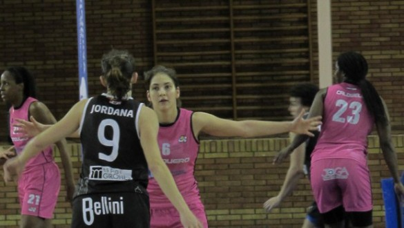 Playoffs Liga Femenina. Enfrentamiento entre Conquero Huelva Wagen y Spar Citylift Girona