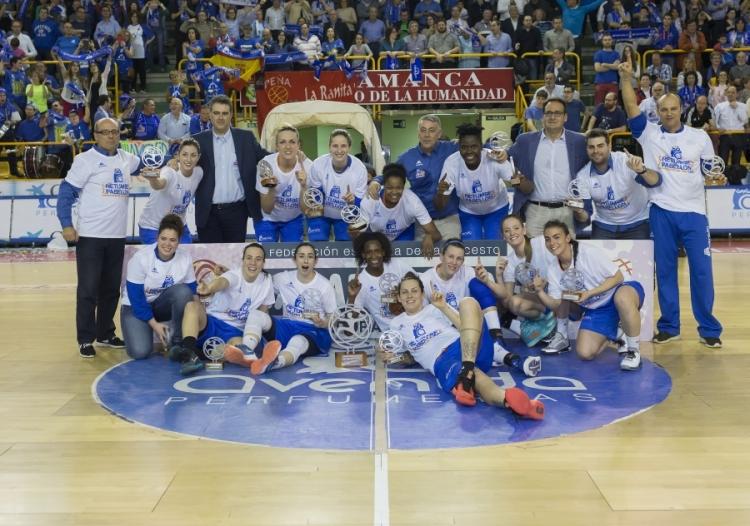 Final Liga Femenina. Perfumerías Avenida vence a Spar Citylift Girona y se proclama como nuevo campeón