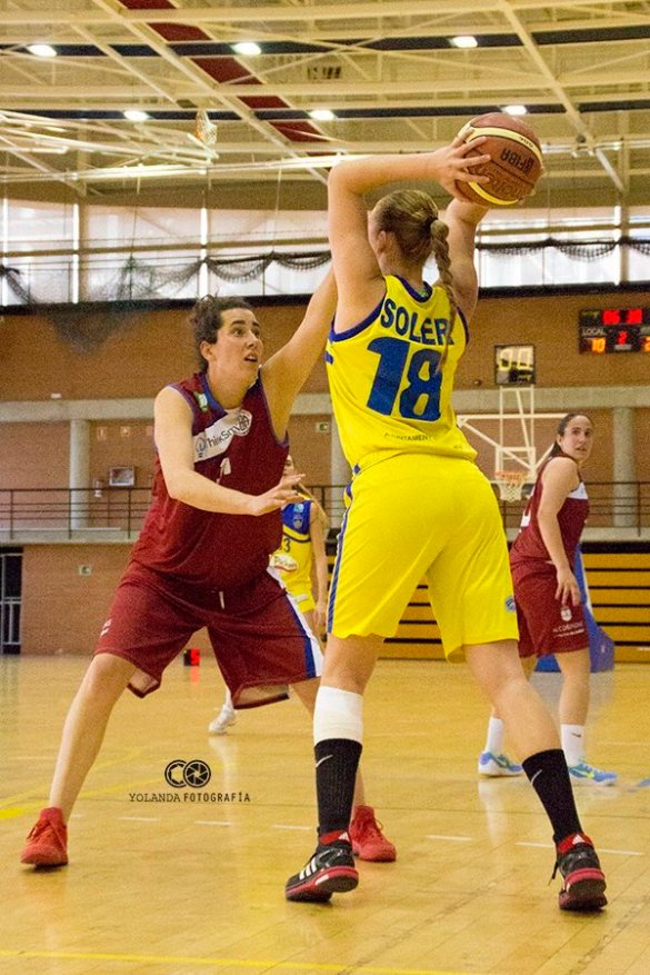 Liga Femenina 2. Picken Claret contra Fundal Alcobendas