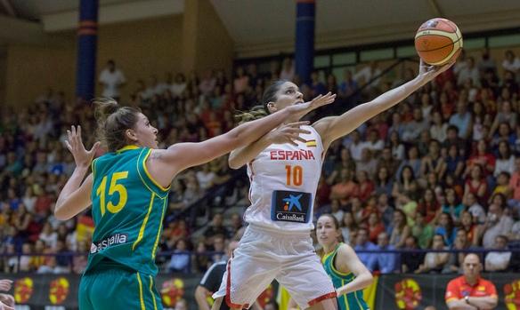 Torneo de San Fernando. España contra Australia