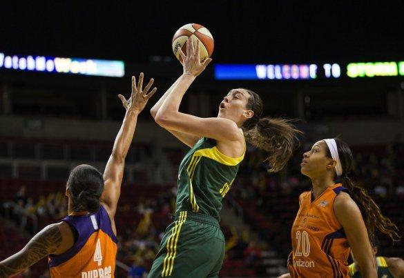 Breanna Stewart, elegida MVP de la WNBA