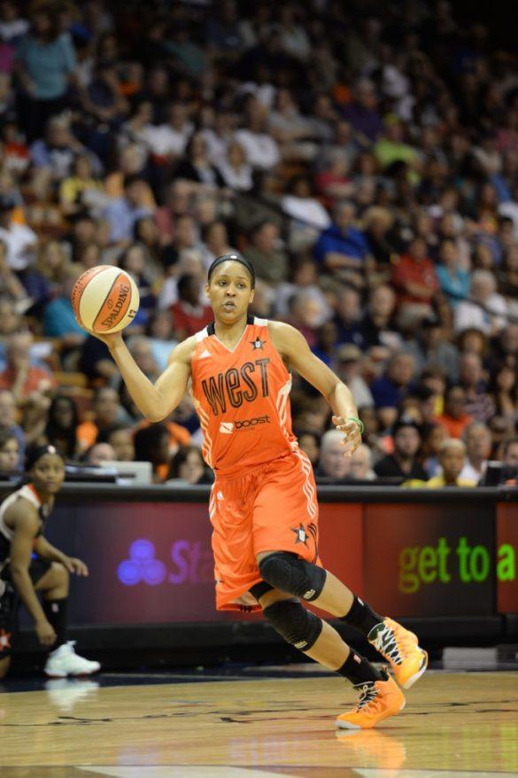 Maya Moore en el pasado All Star de la WNBA