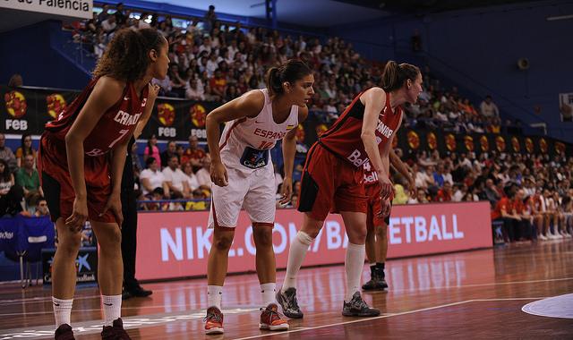 Torneo de Palencia. España frente a Canadá