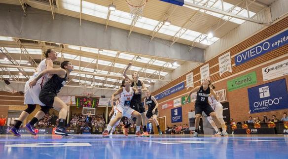Torneo de Asturias. España vence a Nueva Zelanda en el partido disputado en Oviedo