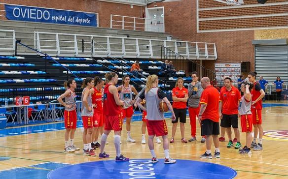 La selección femenina preparada para afrontar el Preolímpico de Nantes