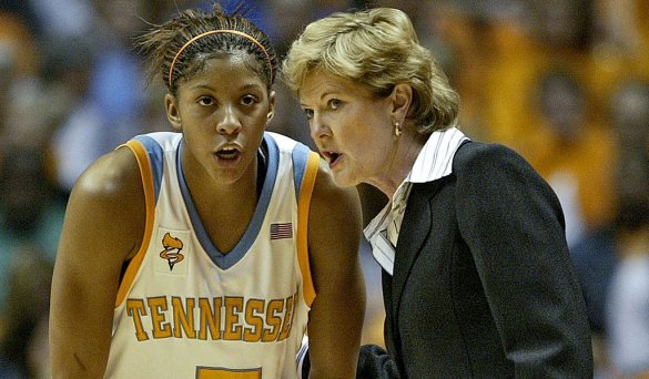 Candace Parker y Pat Summitt