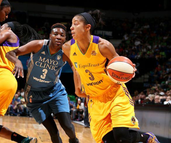 Minnesota Lynx contra Los Ángeles Sparks