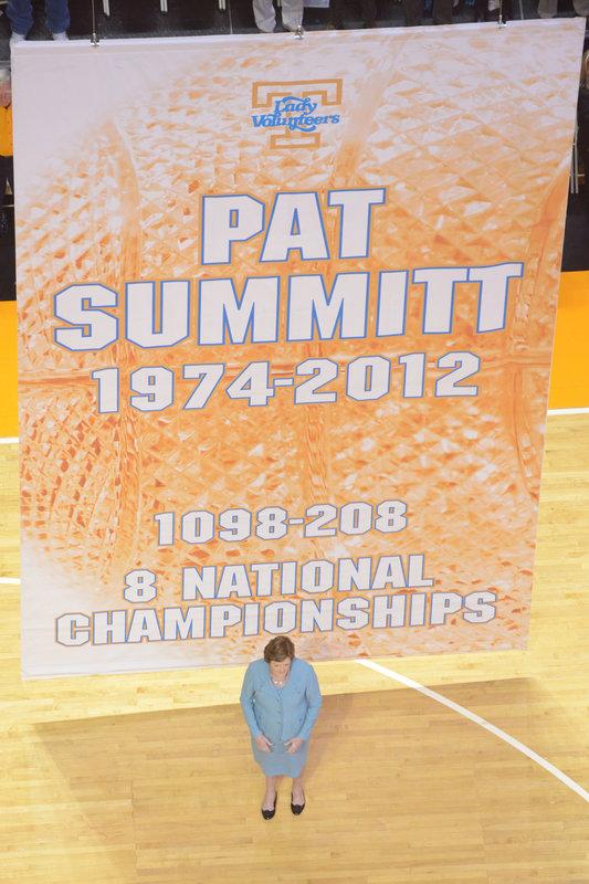 Homenaje a Pat Summitt el pasado 2013
