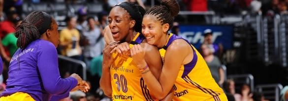 Candace Parker y Nneka Ogwumike lanzadas a por el MVP