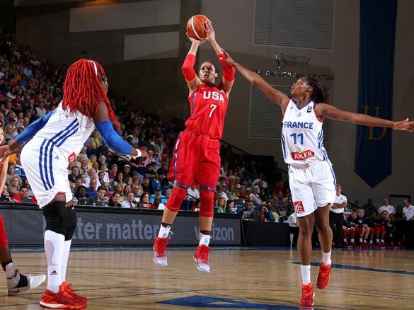 Estados Unidos vence a Francia en la preparación para los Juegos Olímpicos de Río