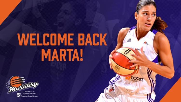 Marta Xargay vuelve a Phoenix Mercury