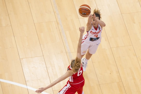 Mundial U17 Femenino de Zaragoza. España contra República Checa.