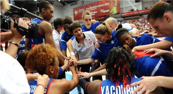 Valerie Garnier a la cabeza de la selección de Francia