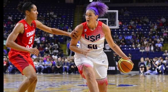 Stefanie Dolson formará parte del USA Select Team