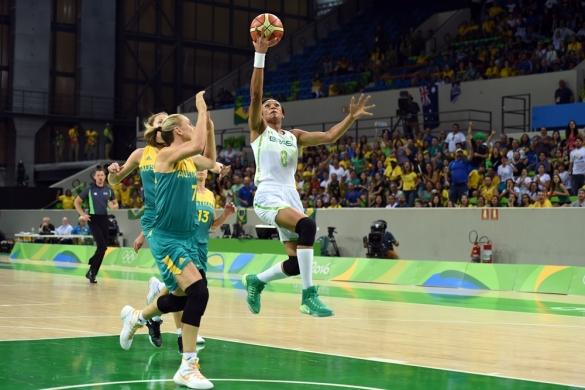 Río 2016: Brasil contra Australia.