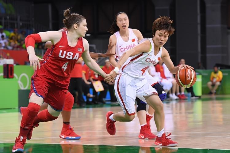 Estados Unidos derrota a China y pasa invicta a cuartos de final