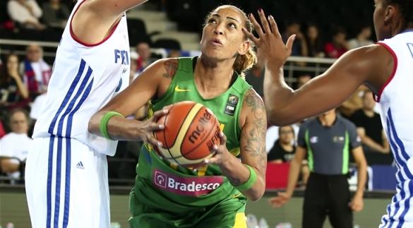 Erika de Souza liderará el juego interior de Brasil