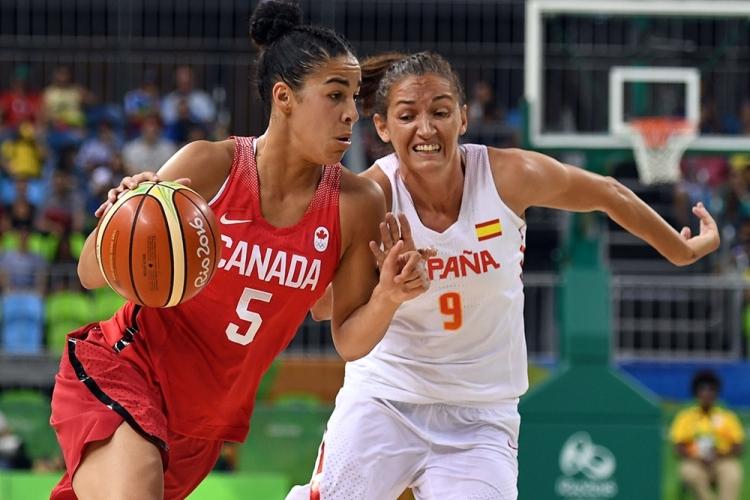 España vence a Canadá y finaliza segunda de grupo