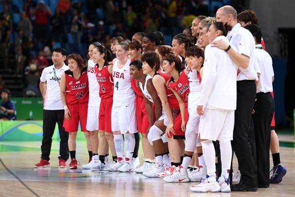 Estados Unidos y Japón hermandas tras el partido de cuartos de final
