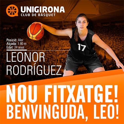 Leonor Rodríguez ficha por Spar Citylift Girona