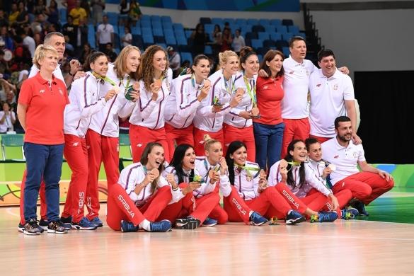 Serbia con la medalla de bronce en Río 2016
