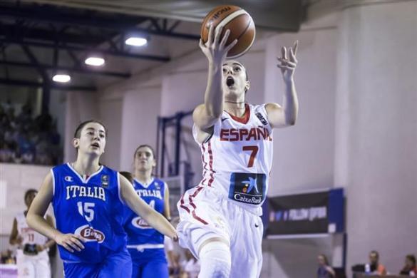 La Selección U16 Femenina consigue el pase a la final del Europeo de Udine