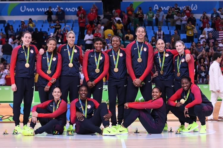Estados Unidos celebra el oro conseguido en Río 2016