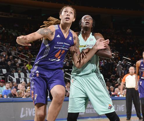 Phoenix Mercury avanza hasta semifinales tras derrotar a New York Liberty