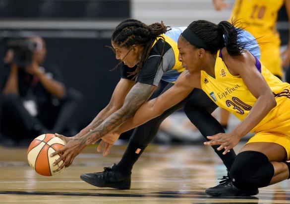 WNBA Playoffs: Los Ángeles Sparks contra Chicago Sky