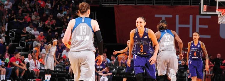 WNBA Playoffs: Minnesota Lynx se enfrentará a Phoenix Mercury en las semifinales