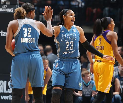 WNBA Finals: Minnesota Lynx iguala la eliminatoria ante Los Ángeles Sparks