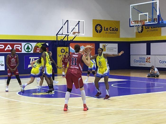 Liga Femenina: Spar Gran Canaria contra Lointek Gernika Bizkaia