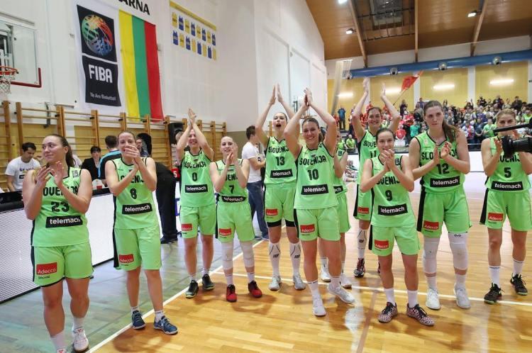 Clasificación Eurobasket República Checa 2017. Eslovenia celebra la victoria y la clasificación