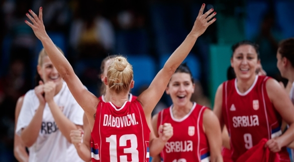 Milica Dabovic anuncia su retirada de la selección Serbia.
