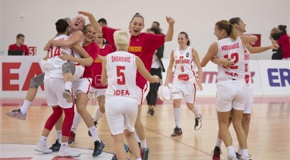 Montenegro celebra su pase al Eurobasket de República Checa
