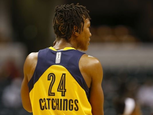 Indiana Fever retirará el dorsal 24 de Tamika Catchings.